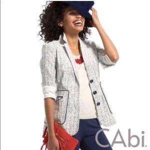 NWT CAbi Code Blazer. Style 204. Size 10.